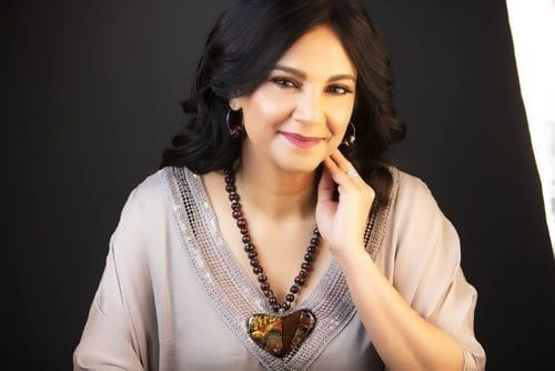 Hasna Sal is a Harvard-trained architect turned artist and interior designer. Her work features strong colors and flowing shapes inspired by nature. Some of her pieces include glass installments, glass sinks, and bowls. She also creates one of a kind jewelry using her glass techniques.